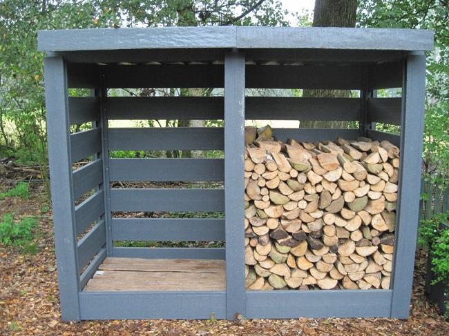 DIY Firewood Storage Ideas - Projects