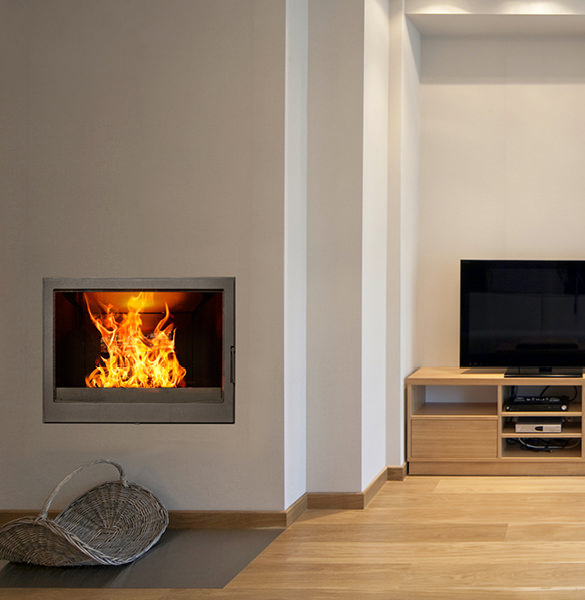 Wood Burning Stoves - Built-In