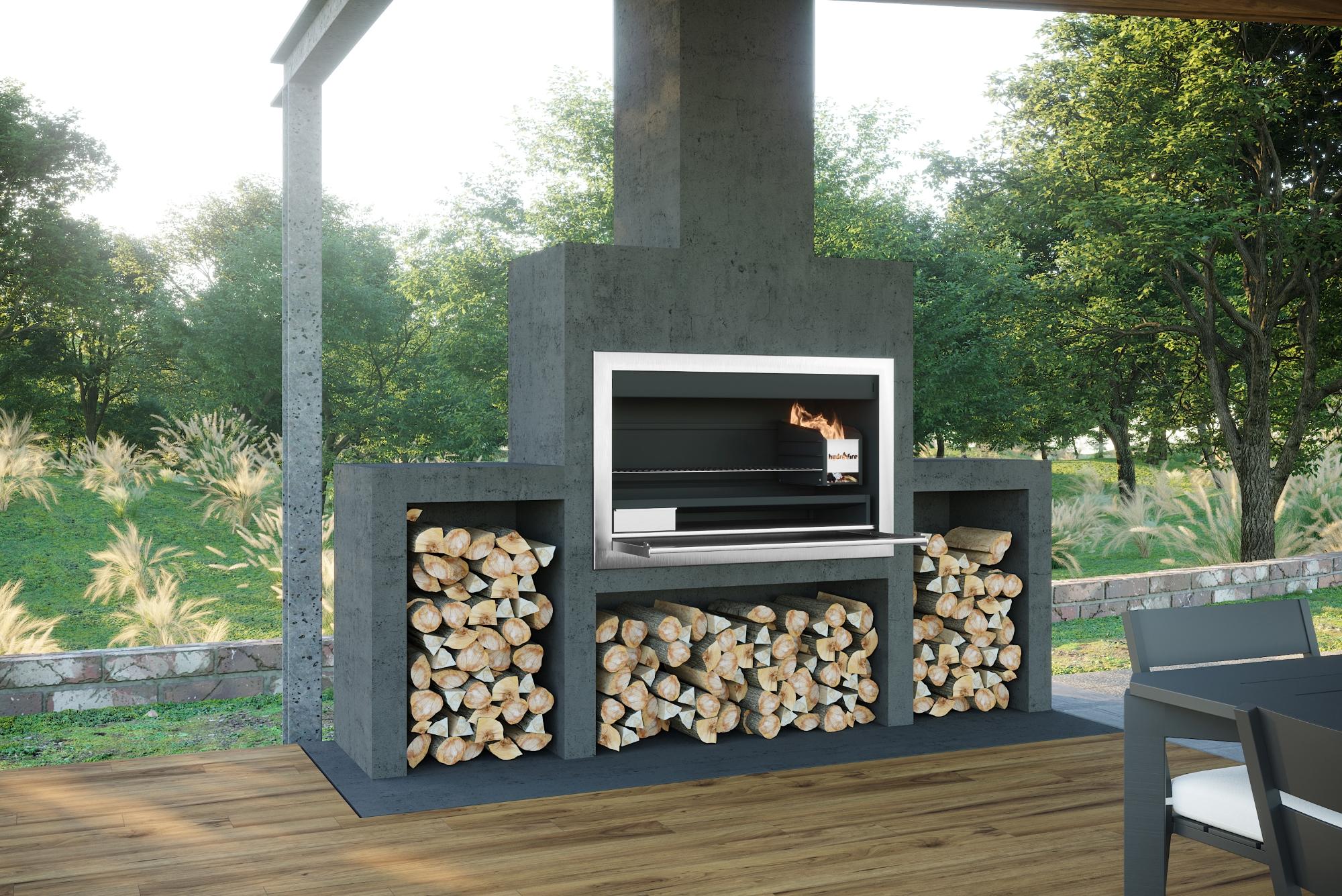 1200mm Premium Contractors Wood Braai